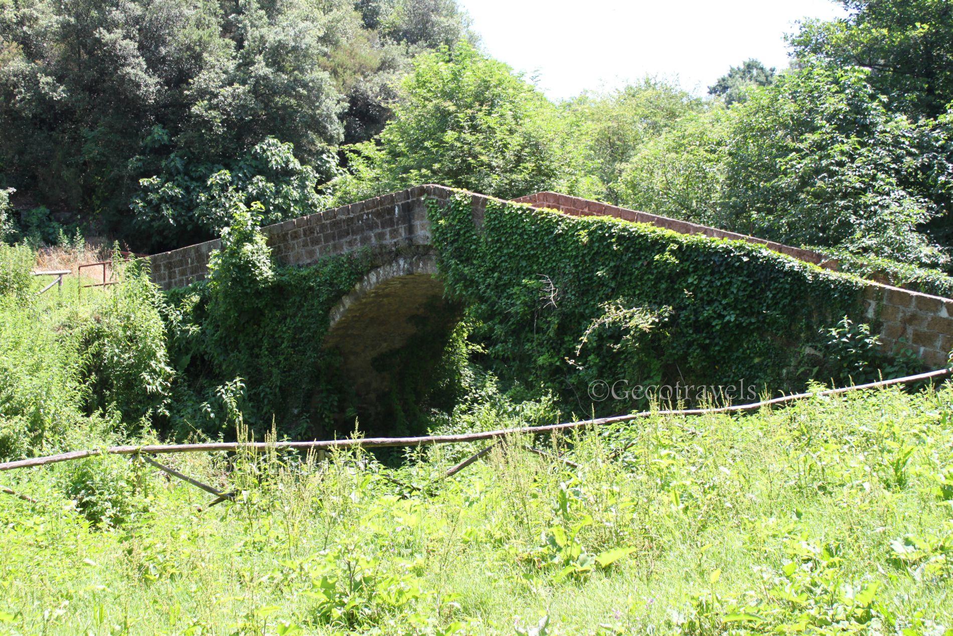 ponticello romano nella valle del sambuco