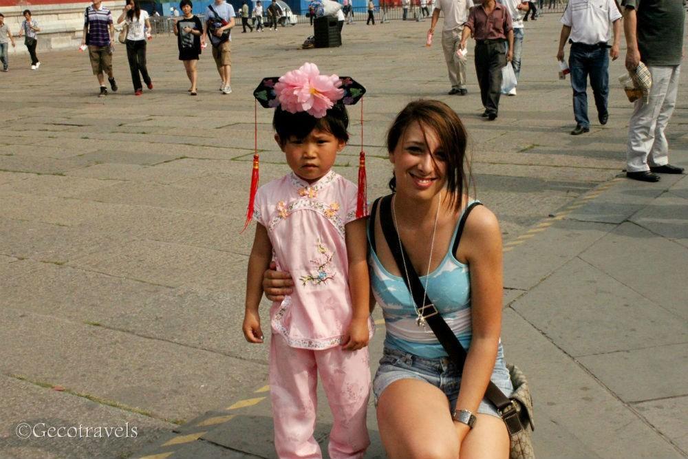 io con bambina cinese