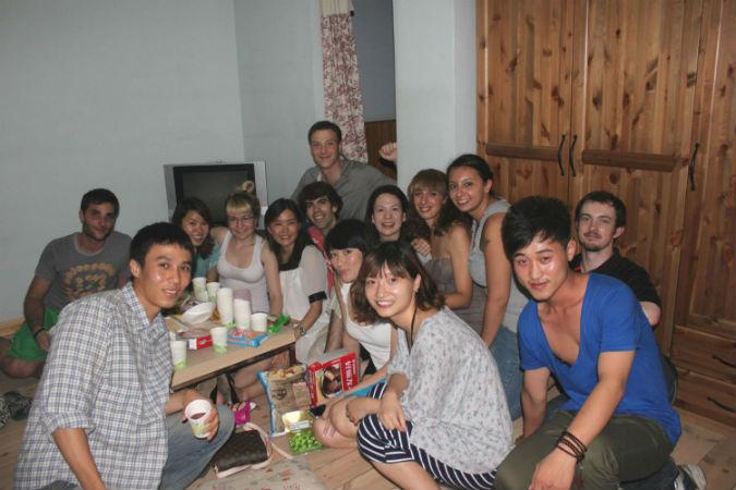 io con i miei amici