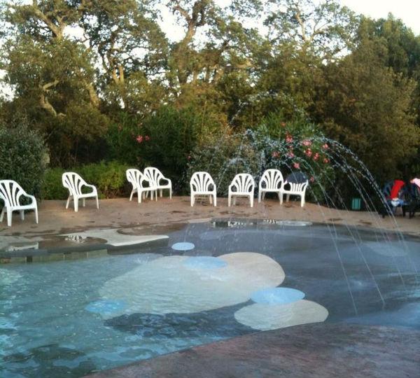 piscina del Camping La Vetta