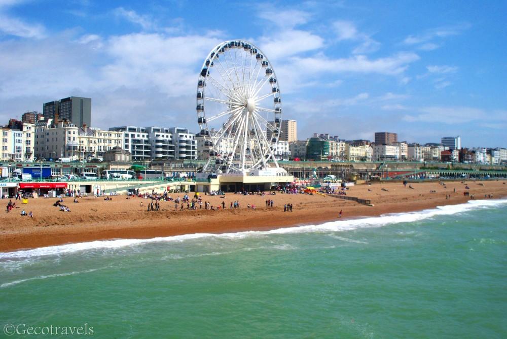 Gita a Brighton fra colori e mare