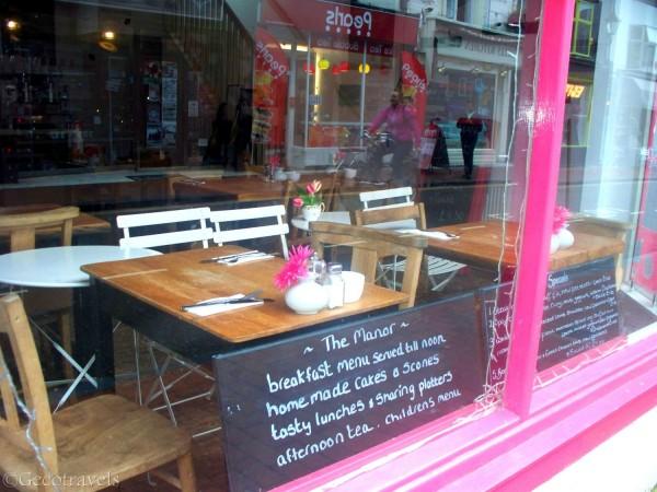 caffetteria a Brighton