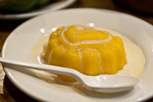 budino di mango