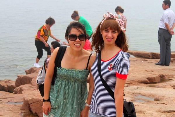spiaggia a Qingdao