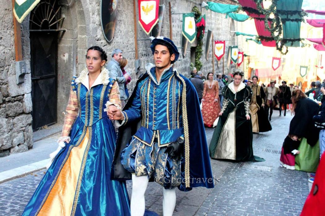 Il corteo storico di Soriano nel Cimino