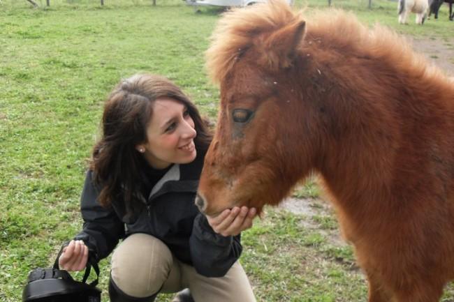 io con un pony