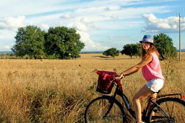 io in bicicletta