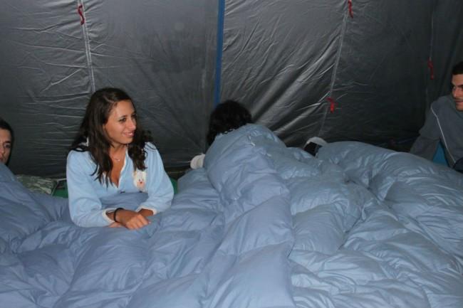 io in campeggio