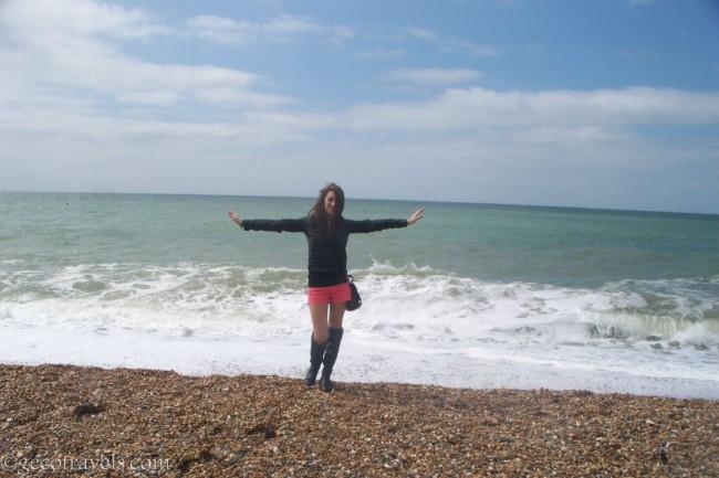 spiaggia a Brighton