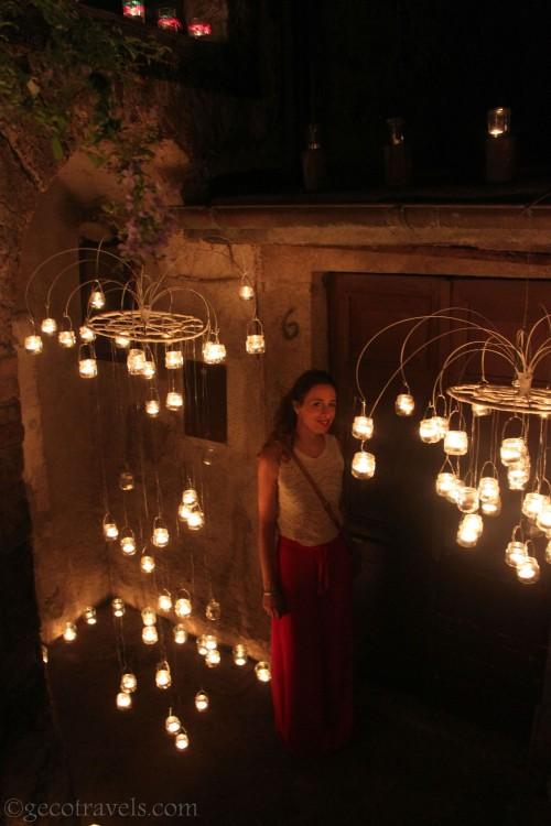 notte delle candele a Vallerano