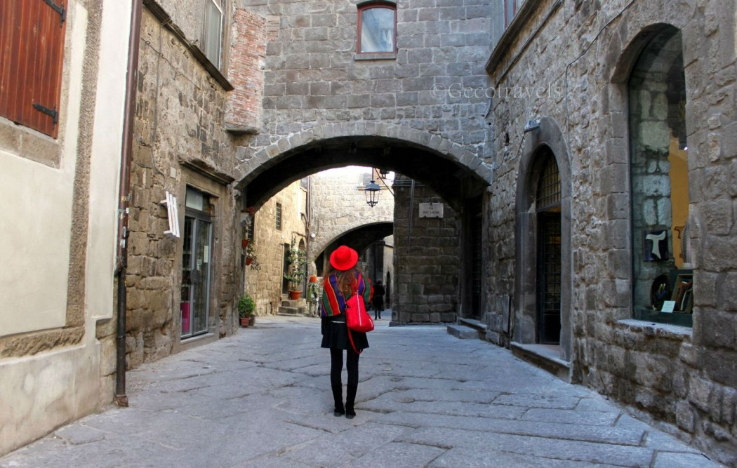 Quartiere San Pellegrino: Viterbo medievale