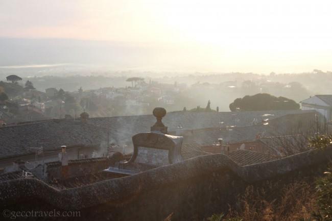vista dalla torre del pellegrino