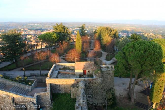 giardini della Rocca dei papi