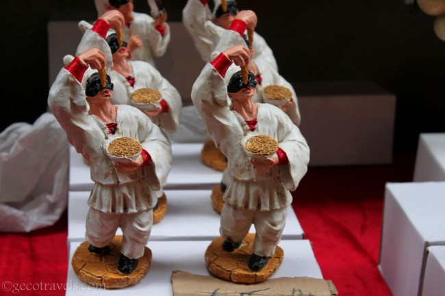 statuine di Pulcinella