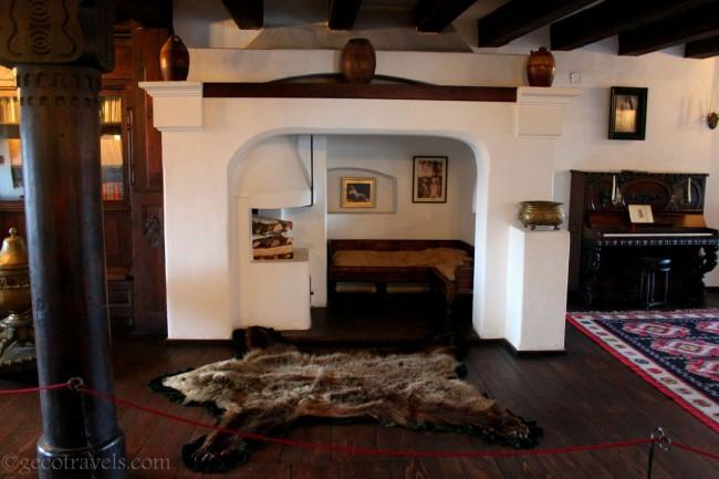 interno castello di Dracula