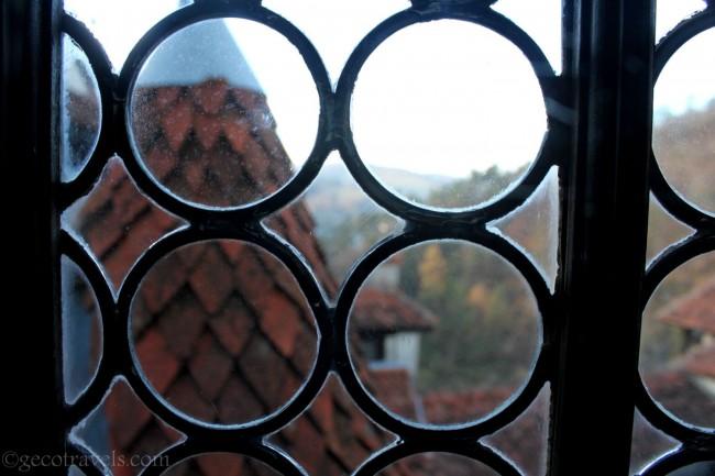 finestra del castello di Dracula