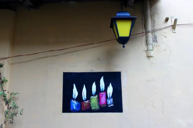 dipinti su pareti
