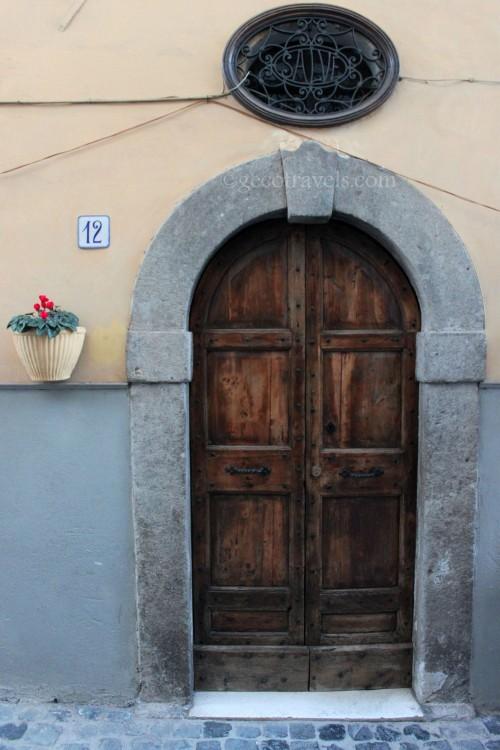 porta a Vallerano