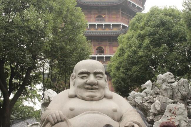 Buddha del tempio della pagoda del nord