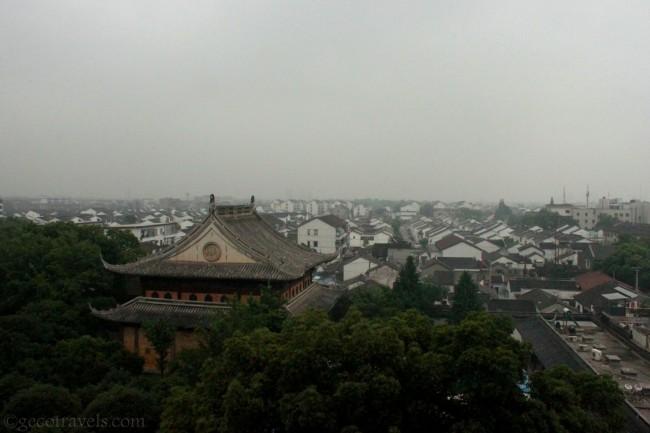 vista dalla pagoda del nord