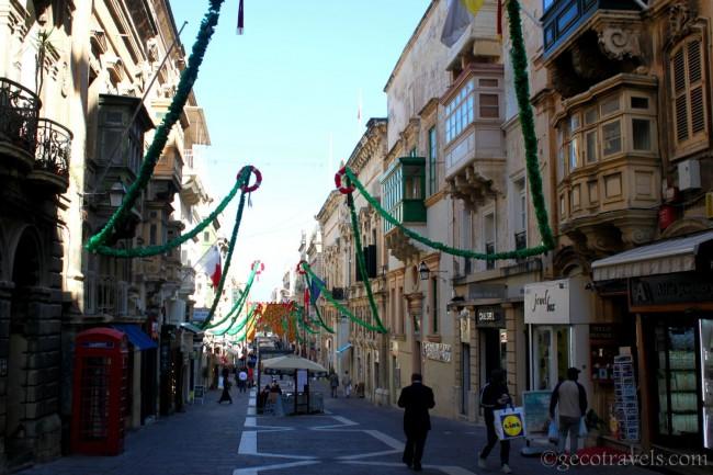 vie di Valletta