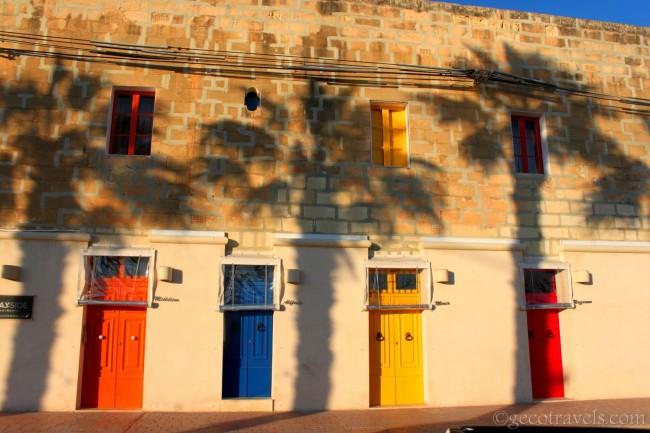 porticine colorate a Marsaxlokk