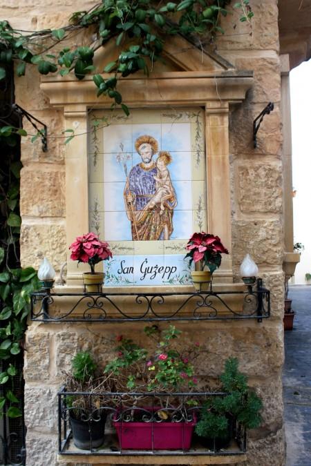 effige religiosa a Malta