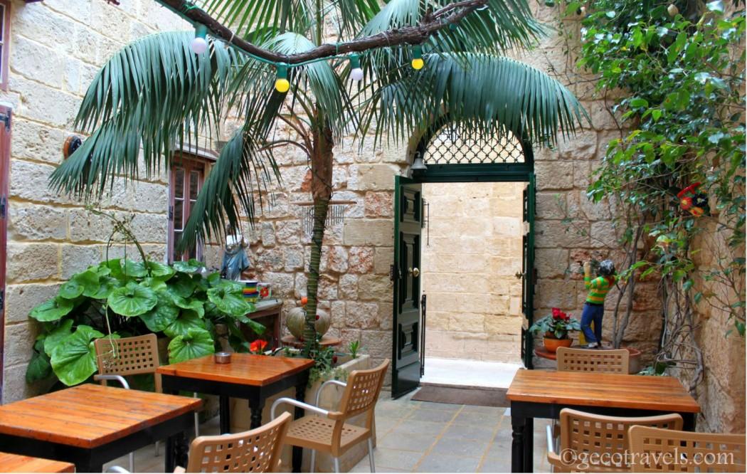 cortile del Ciappetti restaurant