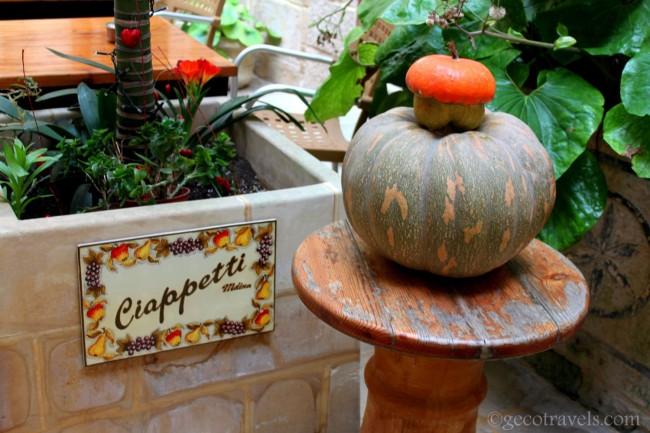 Ciappetti restaurant a Mdina