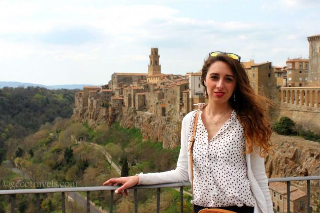 Pitigliano nel mio blog di viaggi eco-sostenibili