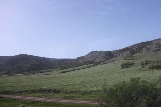 paesaggio verso Tritala