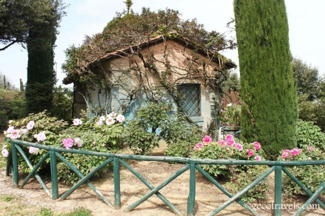 casetta del centro botanico
