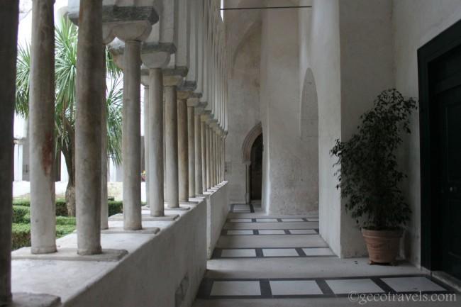 chiostro ad Amalfi