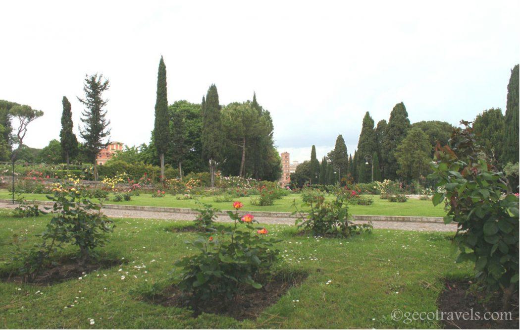 Primavera a Roma: visita al roseto comunale