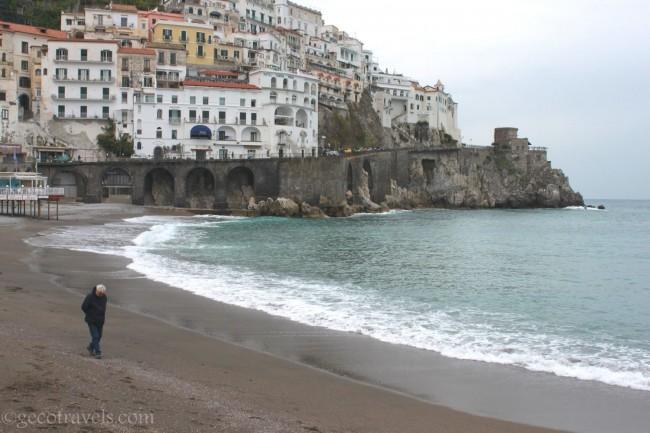 spiagge da vedere ad Amalfi in un giorno