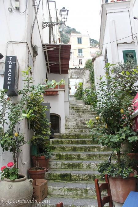 vicoli ad Amalfi