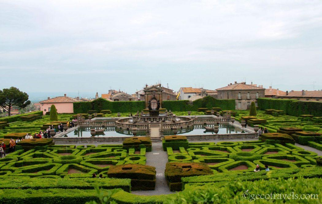 Villa Lante, il giardino più bello d'Italia