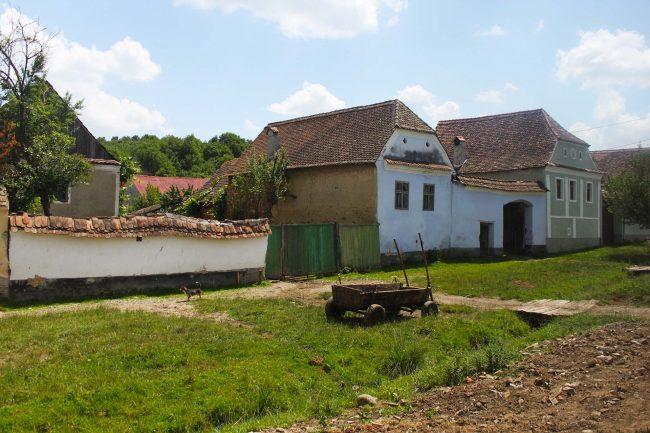 villaggio rurale in Romania