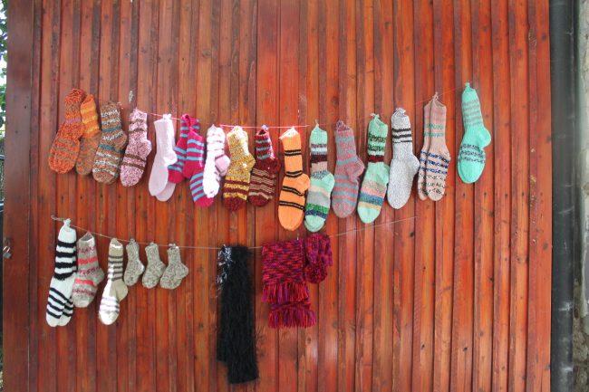 calzini di lana