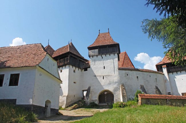 chiesa fortificata