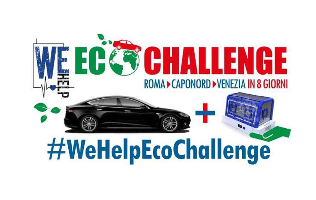 We Help Eco Challenge: un viaggio da Roma a Capo Nord
