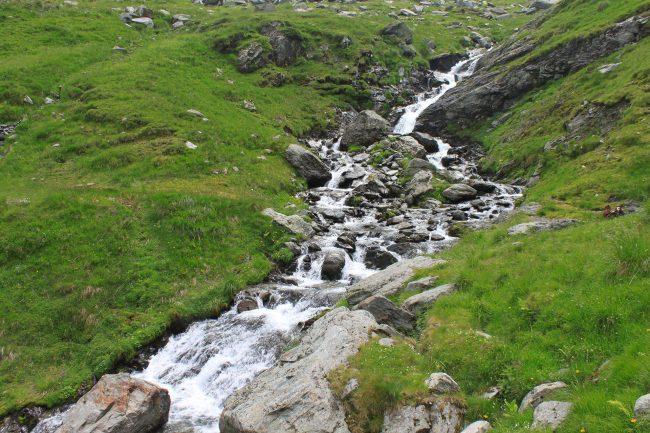 torrenti sui monti Fagaras