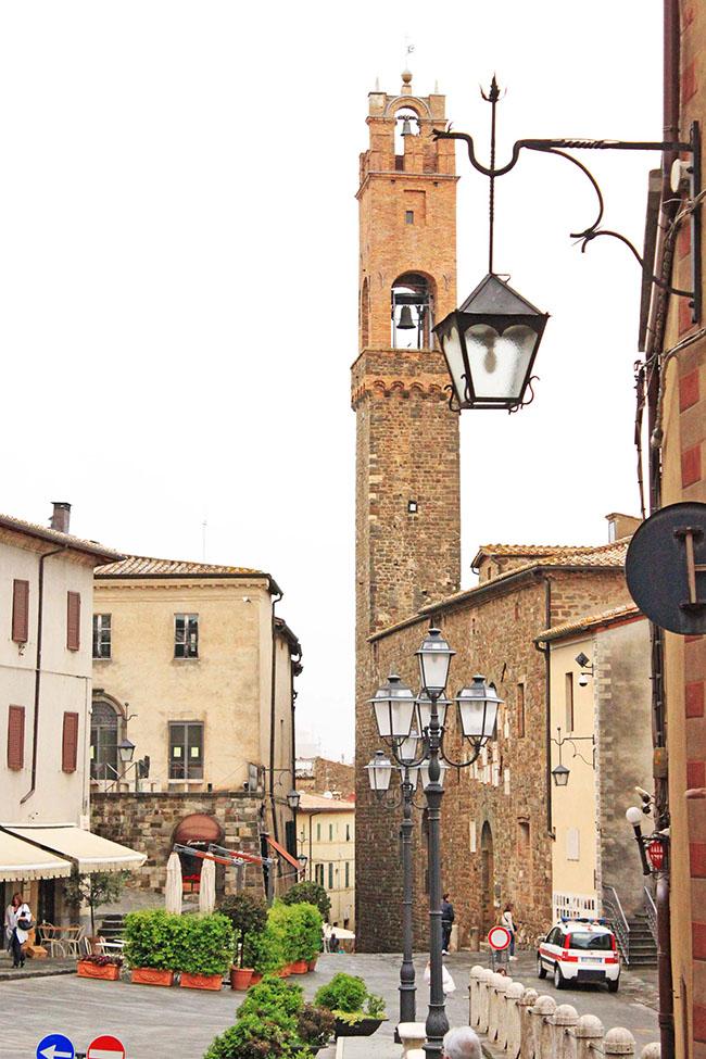 Piazza del Popolo Montalcino