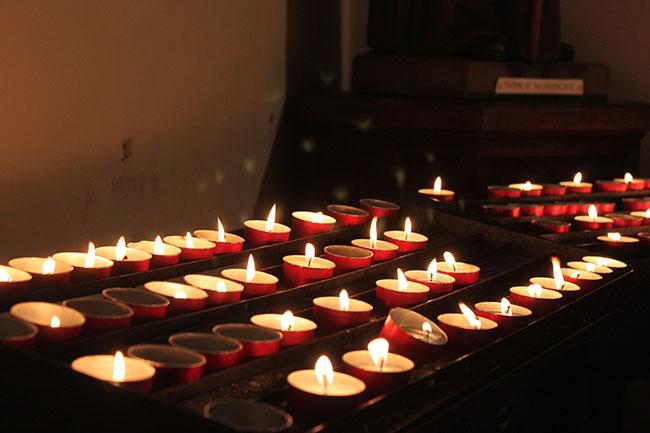 lumini basilica di san benedetto