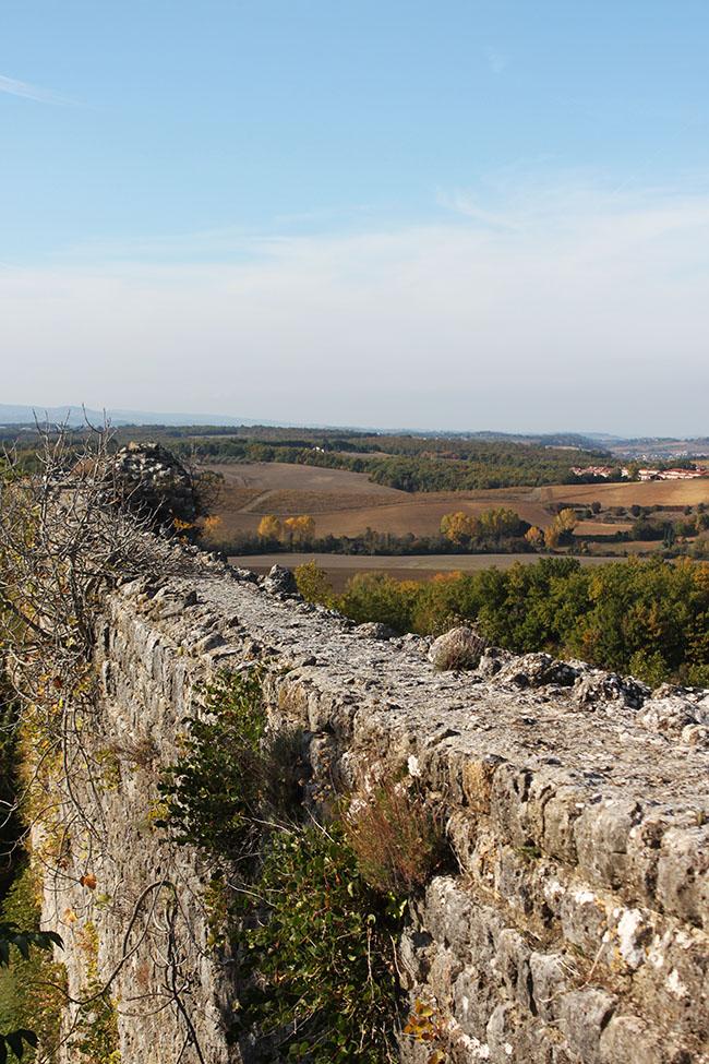 vista dalle mura di Monteriggioni