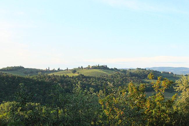 panorama da Monteriggioni