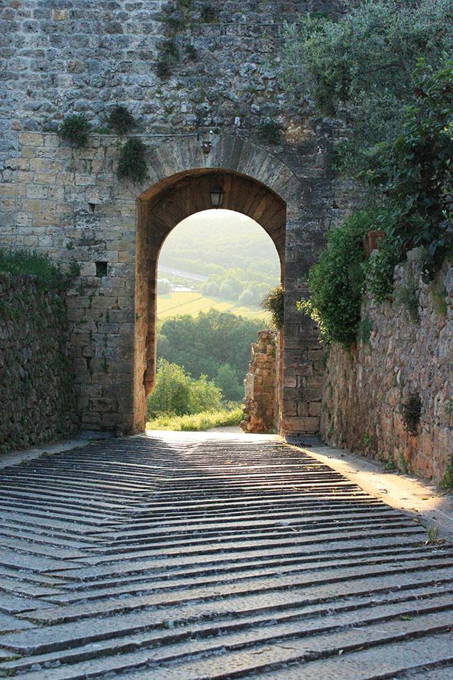 porta Monteriggioni