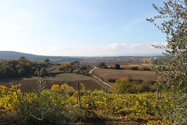 vista da Monteriggioni