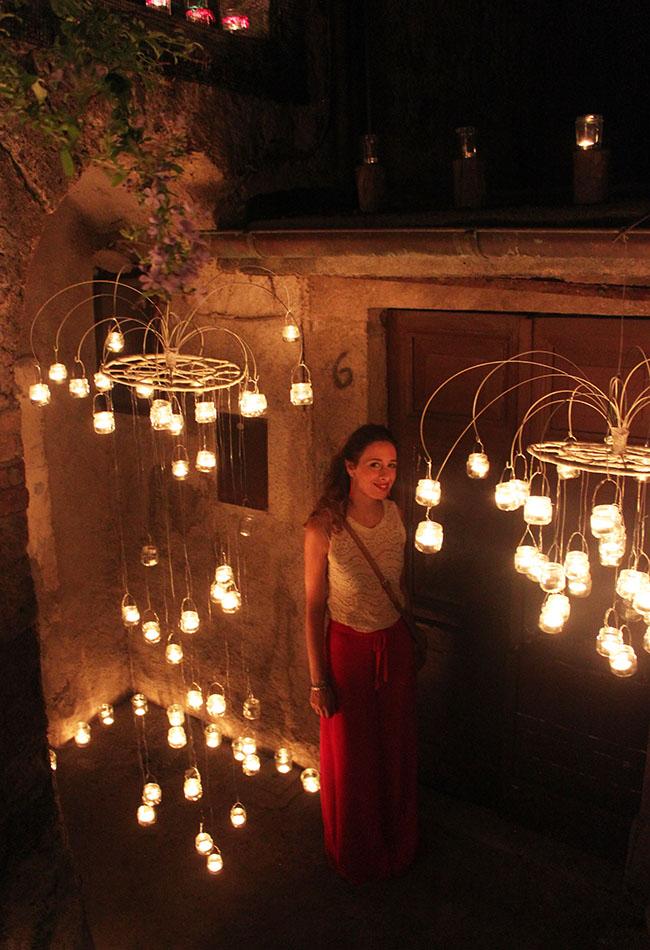 io alla notte delle candele