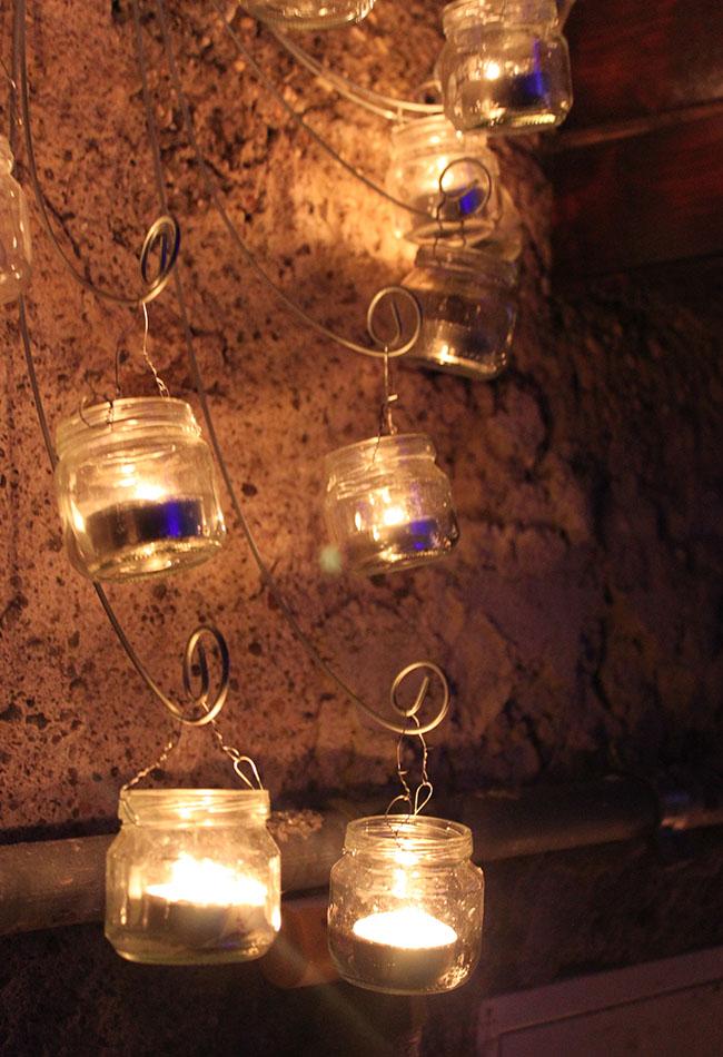 decorazioni con lumini
